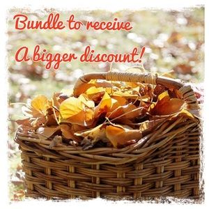 Throw your items in a bundle, get a discount!!!